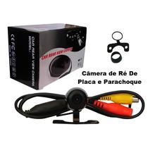 Câmera De Ré Automotiva Placa E Parachoque + Frete Grátis.