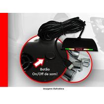 Sensor De Estacionamento C/ 4 Pontos Display Sonoro (on / Of