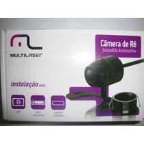 Câmera De Ré Multilaser Multifuncional 2 Fixações Au012