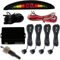 Sensor De Estacionamento Re Várias Cores Display Led Sonoro