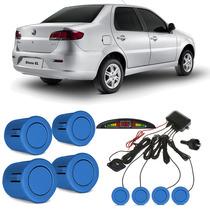 Sensor De Estacionamento Fiat Siena Azul Búzios
