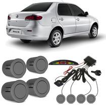 Sensor De Estacionamento Fiat Siena Cinza Scandium