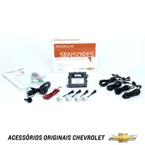 Kit Sensor Estacionamento Ré Original Gm Onix
