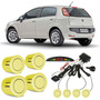 Sensor De Estacionamento Fiat Punto Amarelo Interlagos