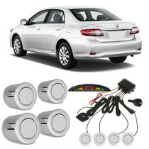 Sensor De Estacionamento Corolla Prata Super Nova