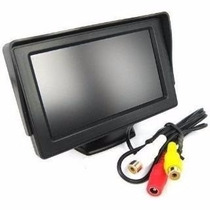 Tela Monitor Automotivo Lcd Tft 4.3 / Carro Camera De Ré