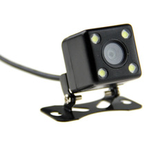 Camera De Re Para Carro Caminhao Ou Van Veicular Com Led