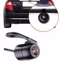 Câmera De Ré Automotiva Colorida P/ Instal Para Choque