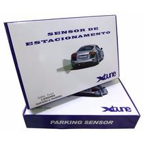 Sensor Estacionamento Ré Lcd Xtune 8 Pontos Frente Traseiro