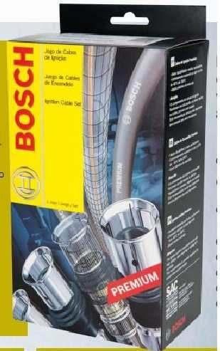 F00099c077 Jogo Cabo Vela Ignição Audi A3 1.8 Aspirado Bosch