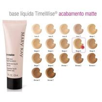 Todas Tonalidades Base Líquida Timewise® Matte - Mary Kay