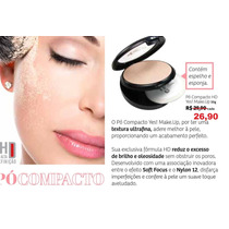 Pó Compacto Hd Yes! Make.up 10% Desconto R$ 29,90 P/ 26,90