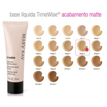 Base Liquida Timewise Matte , Mary Kay,29 Ml.