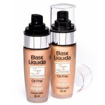 Base Líquida Argan Facial Oil Free - Toque De Natureza