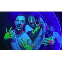 Tinta Líquida Fluorescente 6 Cores Cítricas - Neon Facial