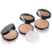 Pó Facial Compacto Prático Fenzza, Estojo, Espelho E Esponja