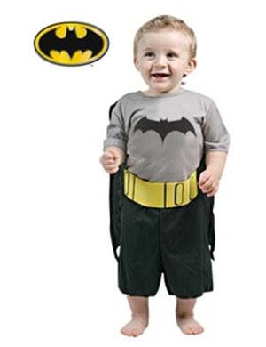 Fantasia Batman Baby Bebe 1 Ano Carnaval Festa Aniversario