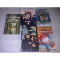 Lote 5 Livros Sidney Sheldon