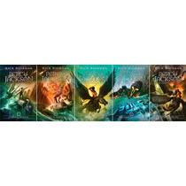 Coleção Percy Jackson & Os Olimpianos Nova Capa (5 Livros)