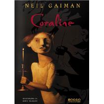 Livro Coraline - Neil Gaiman - Editora Rocco
