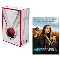 Kit Livros - Box Saga Crepúsculo + A Hospedeira (6 Livros) #