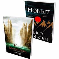Livros O Senhor Dos Anéis(capa Filme) + O Hobbit (capa Dura)