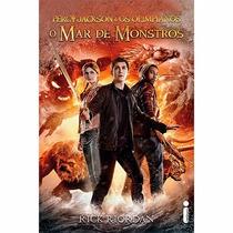 Livro Percy Jackson - O Mar De Monstros (capa Do Filme) #