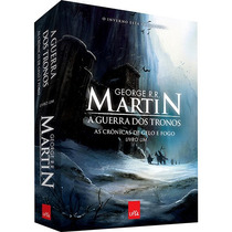 Livro A Guerra Dos Tronos - As Crônicas De Gelo E Fogo 1 #