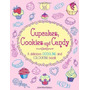 Livro Em Inglês - Cupcakes, Cookies And Candy