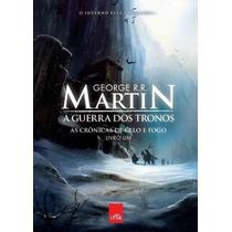 Livro - As Crônicas De Gelo E Fogo - A Guerra Dos Tronos