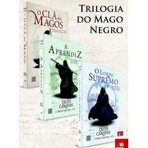 Coleção Box A Trilogia Do Mago Negro 3 Livros Clã Dos Magos
