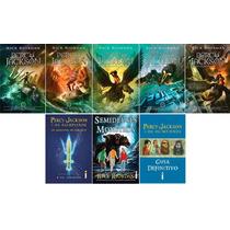 Coleção Percy Jackson & Os Olimpianos Nova Capa (8 Livros) #