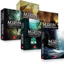 Coleção Completa Livros Guerra Dos Tronos