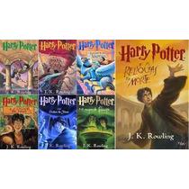 Kit Harry Potter 7 Livros Coleção Capa Original Lacrados