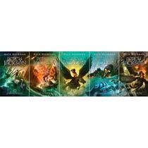 Coleção Percy Jackson & Os Olimpianos Nova Capa (5 Livros) !