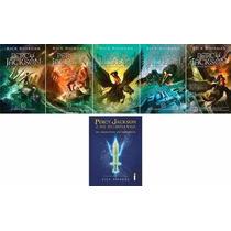 Coleção Percy Jackson E Os Olimpianos + Arquivos - 6 Livros