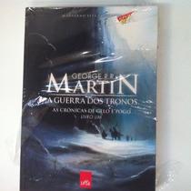 Livro A Guerra Dos Tronos Cronicas De Gelo E Fogo