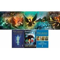 Coleção Percy Jackson E Os Olimpianos 8 Livros Frete Grátis