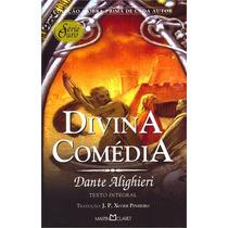 Livro A Divina Comédia De Dante Alighieri - Novo