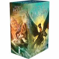 Box Percy Jackson E Os Olimpianos Nova Capa (5 Livros) #