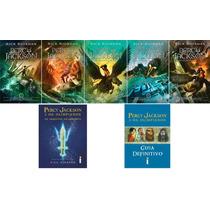 Coleção Percy Jackson & Os Olimpianos Nova Capa (7 Livros) !