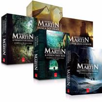 Coleção As Crônicas De Gelo E Fogo - 5 Livros