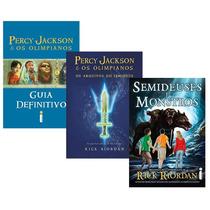 Kit Livros - Manuais Percy Jackson (3 Livros)