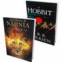 Kit Livros - As Crônicas De Nárnia (volume Único) + O Hobbit