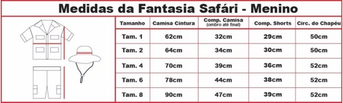 Fantasia Safari / Explorador / Zoo/ Selva
