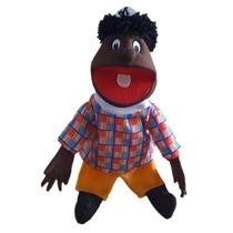 Fantoche Plus Menino Negro (boneca)