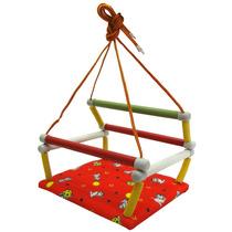 Balanço Infantil 101 Dálmatas Vermelho Parquinho Playground