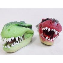 Fantoche De Mão Dinossauro - Dino Fantoche Dtc 2 Unidades.