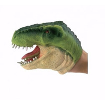 Boneco Dinossauro Fantoche - Verde - Dtc