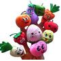 Dedoches - Frutas E Vegetais Brinquedo Pedagógico - Crianças